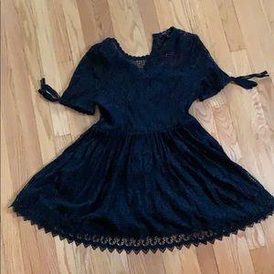 Black Romeo + Juliet Couture dress/shirt